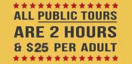 public tours badge